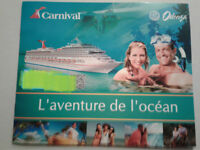 Cruise trip for 2 people in the caribians or pacific ocean 1 wk