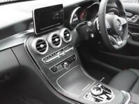 Mercedes-Benz C Class C 220 D 4MATIC AMG LINE PREMIUM (white) 2017-12-29