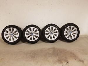 BMW Alloy Rims and Pirelli Winter Tires