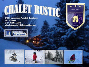 Chalet RUSTIC Lanaudiere