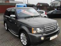 Land Rover Range Rover Sport 4.2 V8 auto 2006 Supercharged *CHEAP TAX BAND *