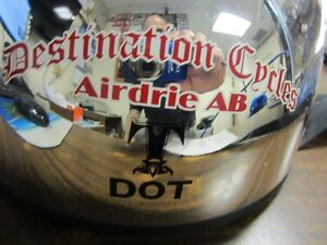 DESTINATION CYCLES AIRDRIE AB DOT HELMET SIZE SMALL