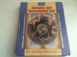 Canadian and International Law Textbook