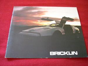 1975 Bricklin sales brochure RARE