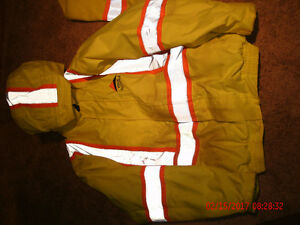 Safety winter coat