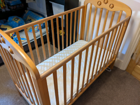 Mothercare Cot and Mattress - Used