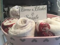 Wedding bundle blankets
