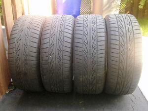 BMW E46 style 45 Mags with summer tires 205/55R16 West Island Greater Montréal image 10