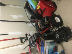 Snowblower condition , hardly used