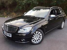 2008 Mercedes-Benz C Class 2.1 C220 CDI Elegance 5dr