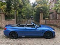 14 PLATE BMW 420d M SPORT CONVERTIBLE DIESEL AUTO 77,445 MILES M PERFORMANCE