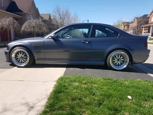 BMW E46 M3, priced to sell