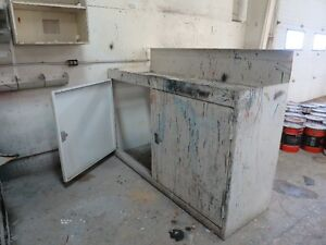 Paint Mixing Bench