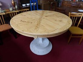 XMAS SALE NOW ON - Gorgeous Pine Topped Lobby / Hall table - Can Deliver For £19