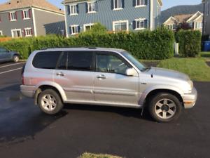 Bon vehicule pour l'hiver, 2002 Suzuki XL7 4X4