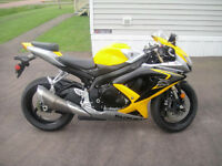 2008 Suzuki GSX-R600 with under 20k km!