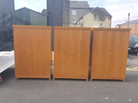 30. 20 solid oak galgorm wardrobes