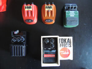 GUITAR PEDALS, STRAPS, TUNERS
