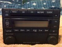 OEM Mazda double din radio and cd player mk2.5 mx5