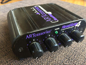 ART HeadAMP 4 Stereo Headphone Amp