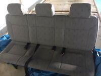 VW Transporter T4 Triple Middle Seats