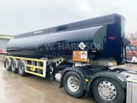 2003 HEIL 34,000 LITRE FUEL/OIL TANKER TRAILER, SINGLE COMPARTMENT