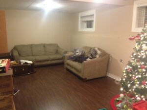 Spacious 1 Bedroom Basement Apartment for Rent in GFW July 15th