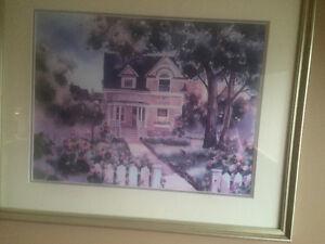 Alex fong framed print
