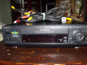 DVD player and VHS player