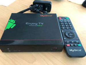 Android TV Box like new MyGica ATV 1200 with KR-60 remote
