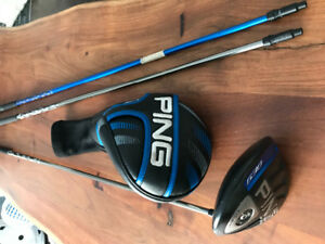 Ping G30 LS TEC driver stiff (3 shafts)