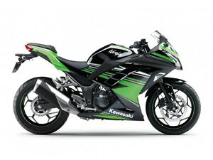 2016 Kawasaki Ninja 300 ABS Kawasaki Racing Team Edition