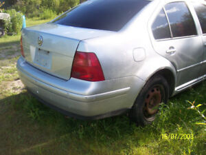 vw jetta  tdi 2000  sale parts