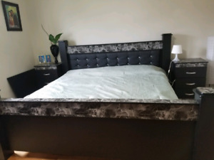 King size bedrooms set with Mattress