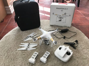 DJI Phantom 3SE with Extra