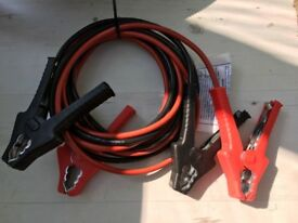 Heavy duty jump leads 5m length