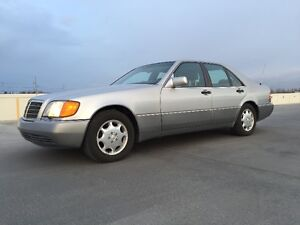 Mercedes-Benz 1992 400SE Sedan W140 Chassis In Mint Condition