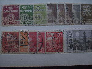 Selling My Stamp Collection--Denmark #2