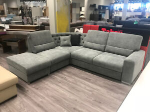 MUNDO SECTIONAL – MADE IN EUROPE - BLACK FRIDAY SPECIAL $2399