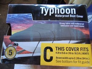 Typhoon Boat Cover - RETAIL $140