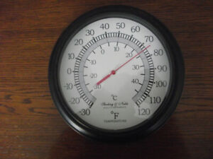 STERLING & NOBLE WALL THERMOMETER READER