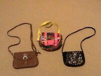 Girls Handbags x3