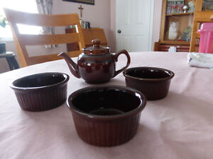 Brown Bake Wear - 13 Pieces - From England Kitchener / Waterloo Kitchener Area image 4
