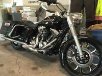 2009 Harley Davidson trade for a pick up truck a lot of $ spent
