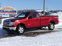 2013 FORD F-150***4X4***REG CAB***TWIN TURBO***NEW TIRES***