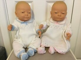 Twin baby dolls