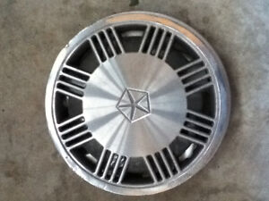 Chrysler all metal wheel cover