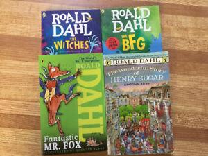 4 Roald Dahl Paperbacks