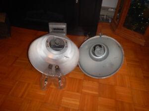 2 Lampes Industrielles D Extérieur