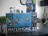 Aquarium 25 gallons toute   équipé